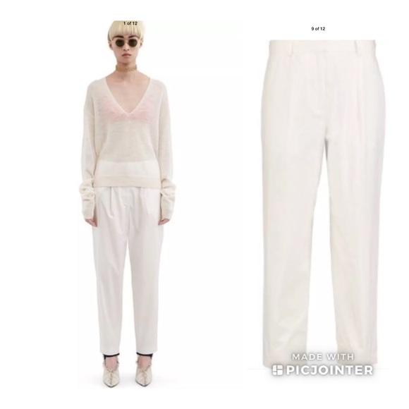 Acne Pants - Acne Studios Onno Pop Cotton Trousers